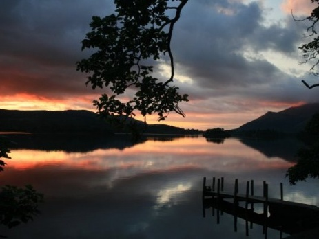 Lake District avond