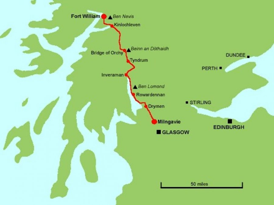 route West Highland Way