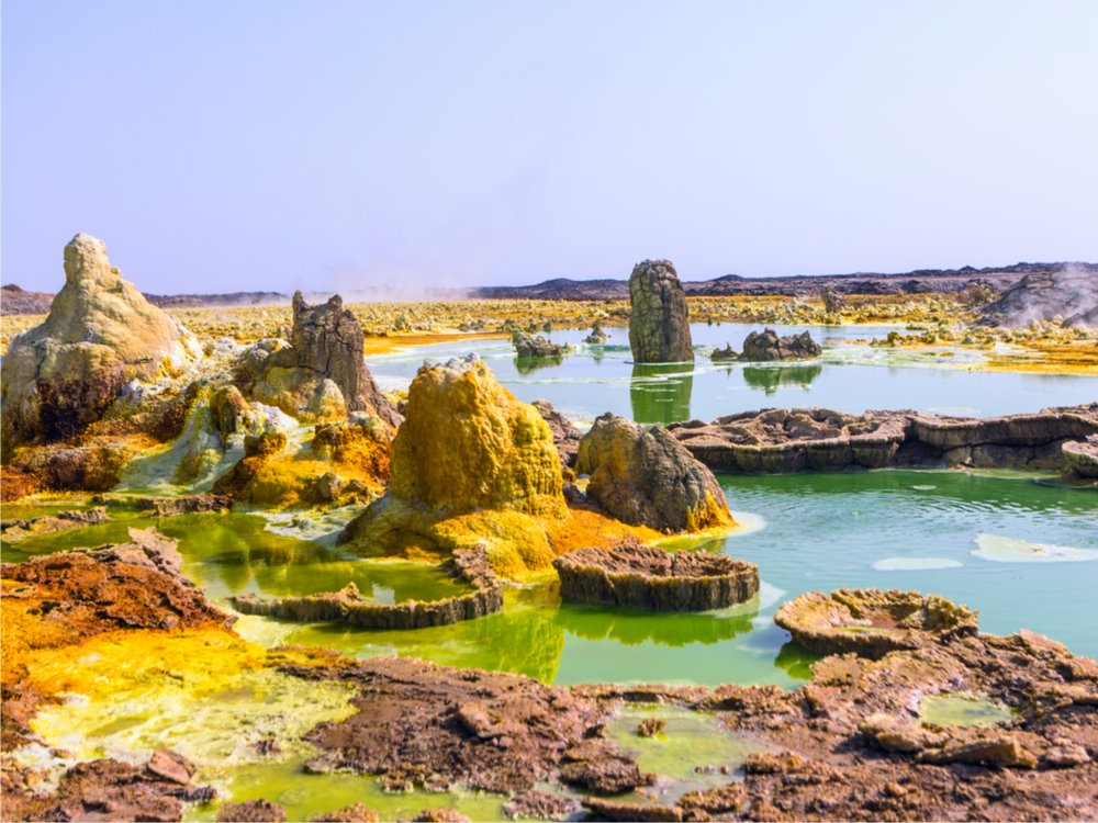 Dallol Lake Danakil