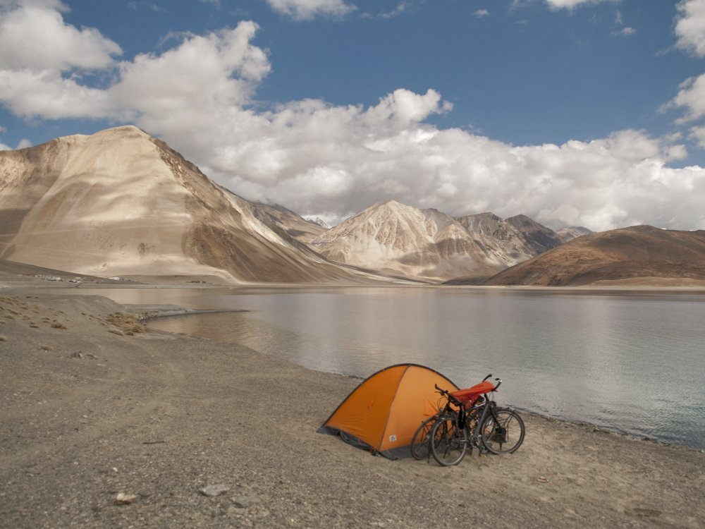 Mountainbiken in Ladakh