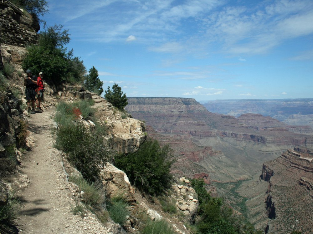 Wandelen in de Grand canyon